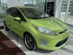 Green[Lime Squeeze Metallic] 2011 Ford Fiesta Right Front Corner Photo in Edmonton AB