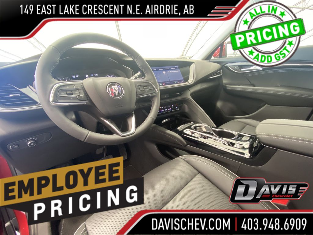 Grey 2021 Buick Envision Center Console Photo in Airdrie AB