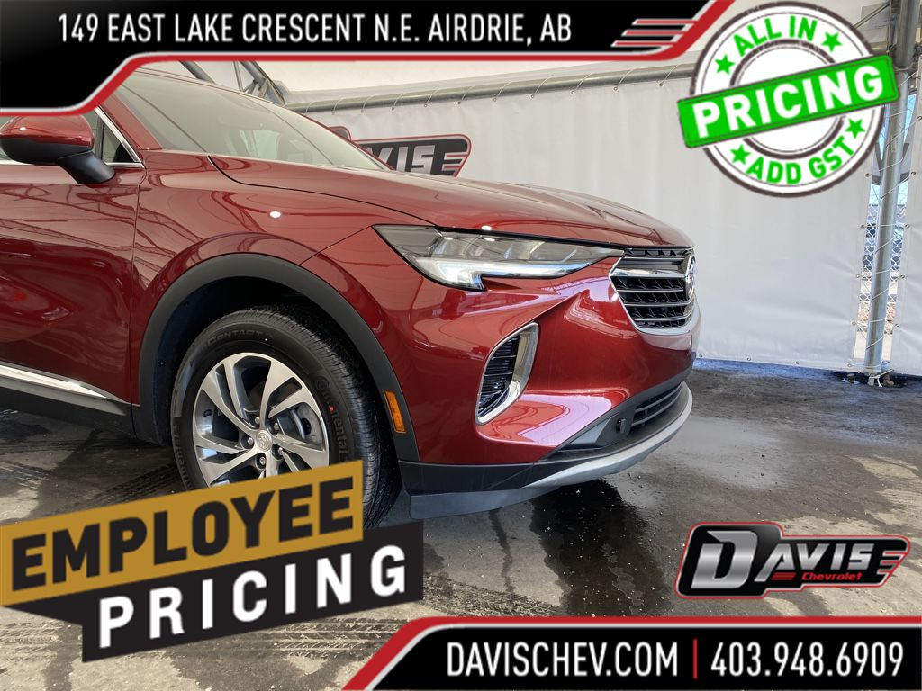 Grey 2021 Buick Envision Odometer Photo in Airdrie AB