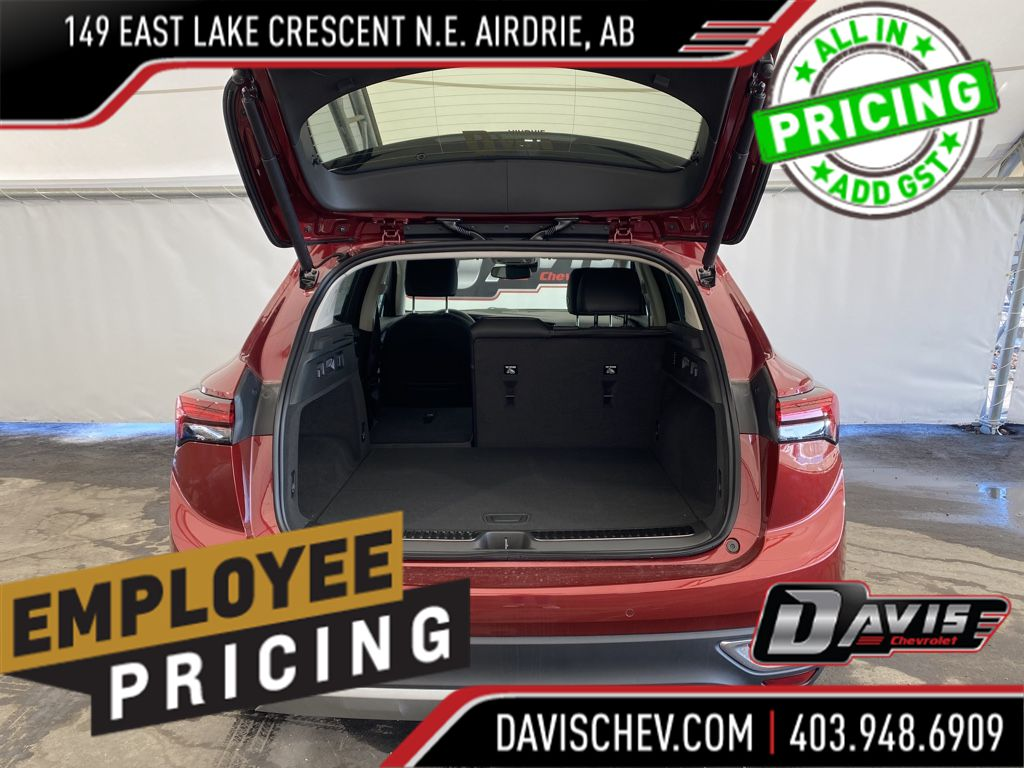 Grey 2021 Buick Envision Left Front Interior Photo in Airdrie AB