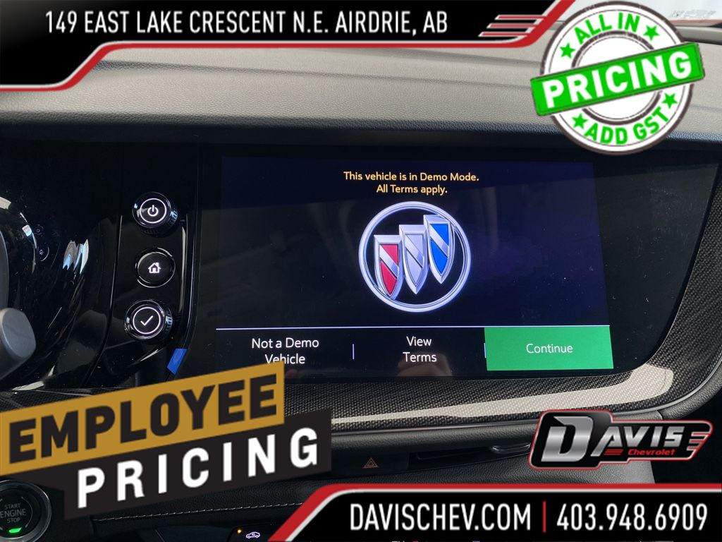 Grey 2021 Buick Envision Left Side Photo in Airdrie AB