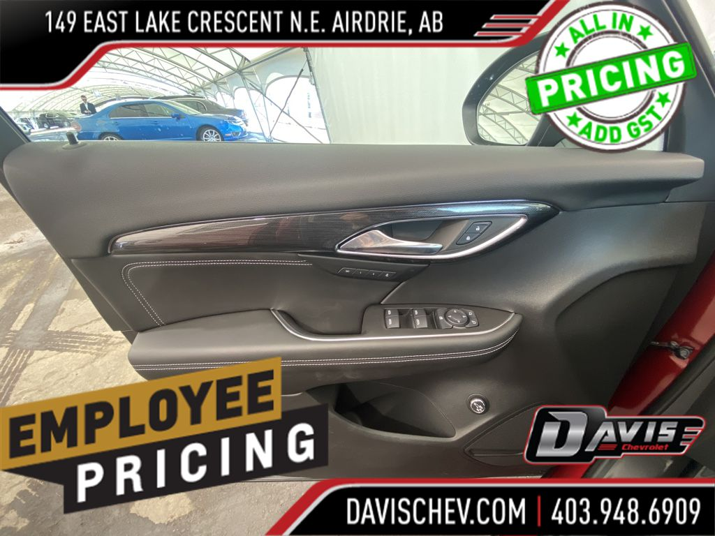 Grey 2021 Buick Envision Left Rear Corner Photo in Airdrie AB