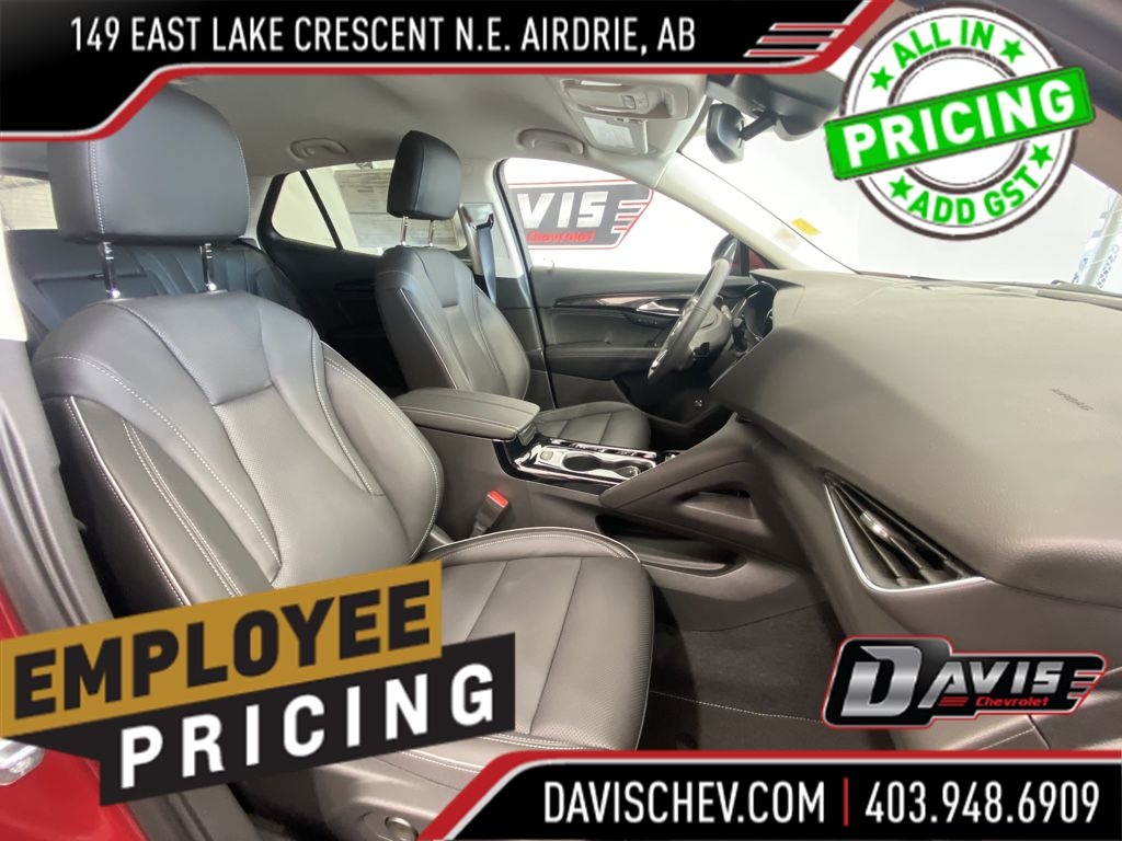 Grey 2021 Buick Envision Central Dash Options Photo in Airdrie AB