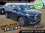Blue 2021 GMC Terrain Primary Listing Photo in Airdrie AB
