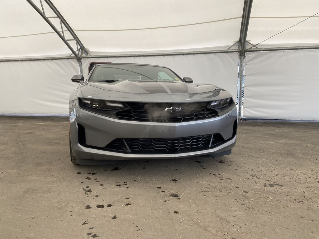 Dark Grey 2021 Chevrolet Camaro Trim Specific Photo in Airdrie AB