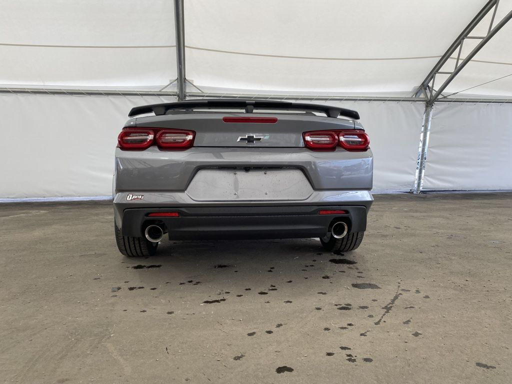 Dark Grey 2021 Chevrolet Camaro Left Side Rear Seat  Photo in Airdrie AB