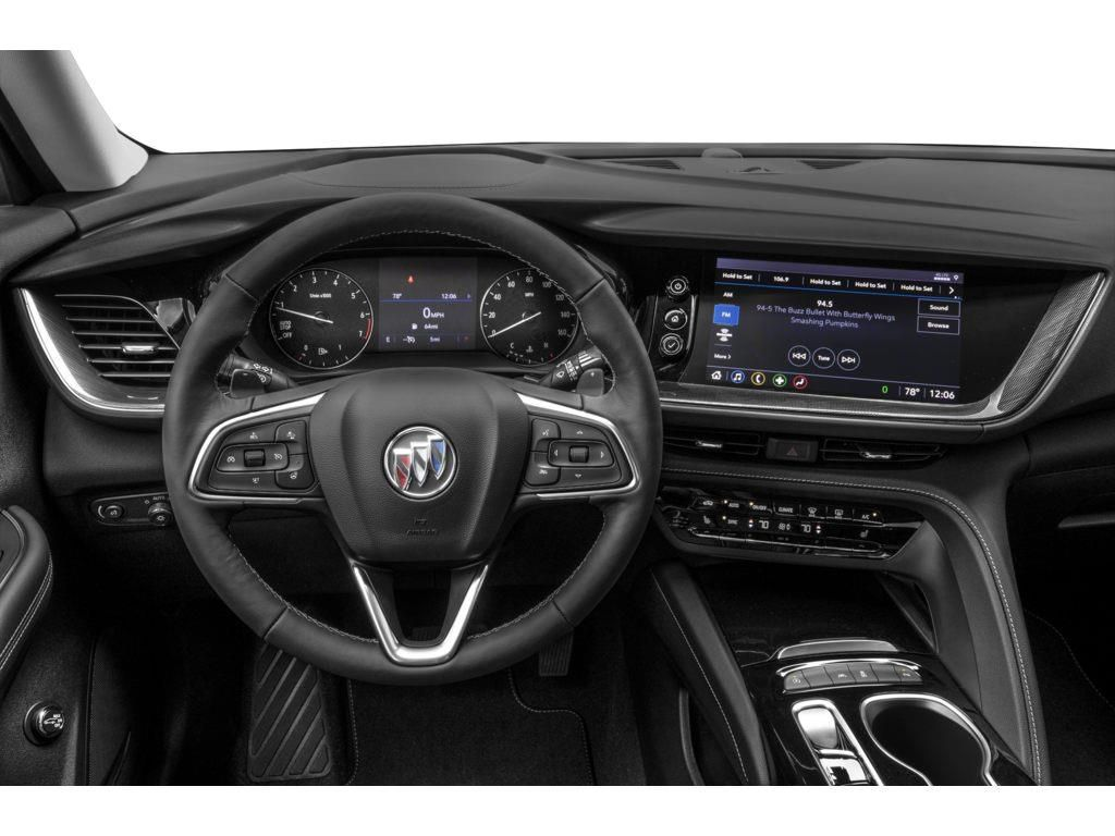 White 2021 Buick Envision Left Front Interior Door Panel Photo in Westlock AB