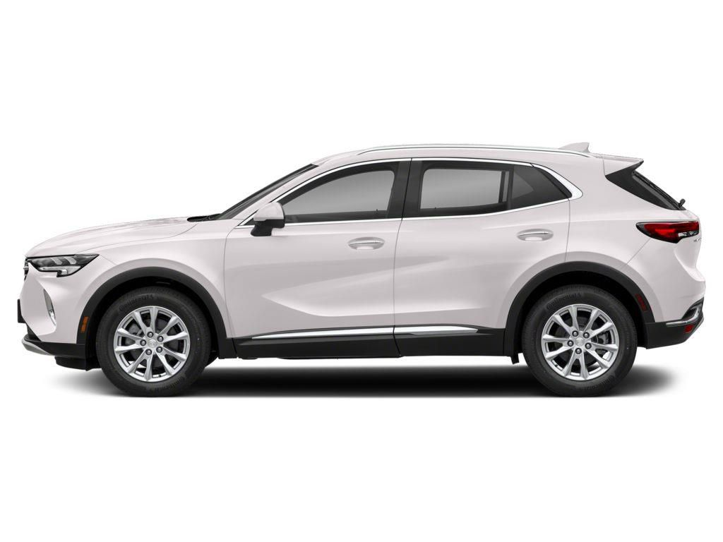 White 2021 Buick Envision Left Front Corner Photo in Westlock AB