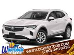 White 2021 Buick Envision Primary Listing Photo in Westlock AB