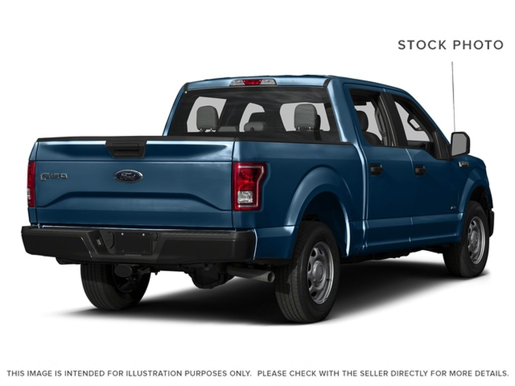 Blue[Blue Jeans Metallic] 2017 Ford F-150 Right Rear Corner Photo in Fort Macleod AB