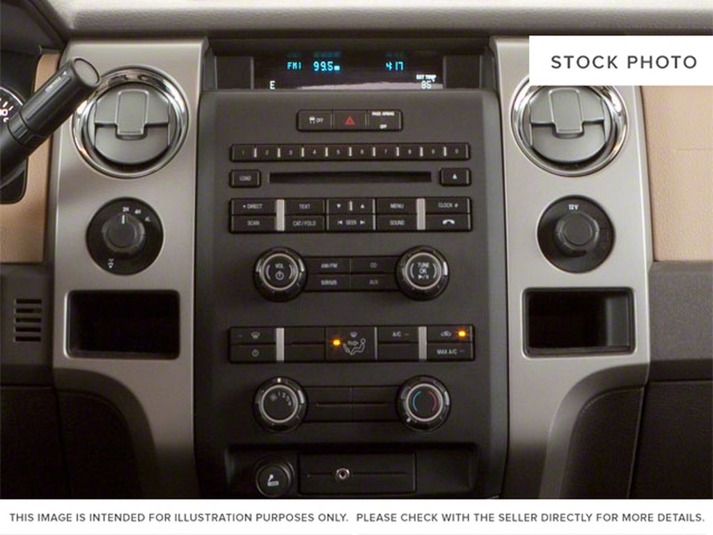 Blue[Blue Flame Metallic] 2012 Ford F-150 Center Console Photo in Fort Macleod AB