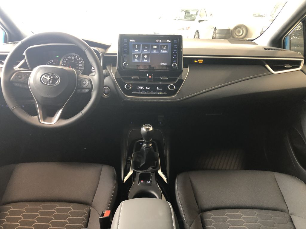Classic Silver Metallic w/Black Roof 2021 Toyota Corolla Hatchback SE Upgrade Manual Third Row Seat or Additional  Photo in Edmonton AB