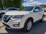White[Glacier White] 2018 Nissan Rogue Left Front Corner Photo in Kelowna BC