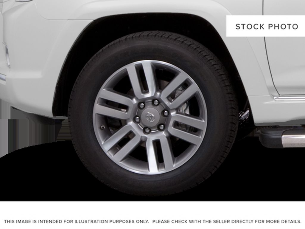 Black[Black] 2011 Toyota 4Runner Left Front Rim and Tire Photo in Kelowna BC