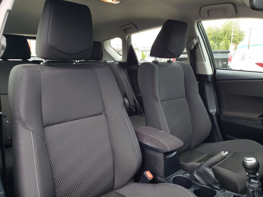 Black 2017 Toyota Corolla iM Right Side Front Seat  Photo in Kelowna BC