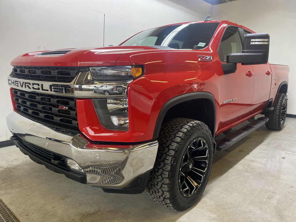 RED 2020 Chevrolet Silverado 2500HD LT Z71 - Bluetooth, Backup Camera, Apple Carplay Left Front Corner Photo in Edmonton AB