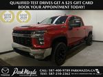 RED 2020 Chevrolet Silverado 2500HD LT Z71 - Bluetooth, Backup Camera, Apple Carplay Primary Photo in Edmonton AB