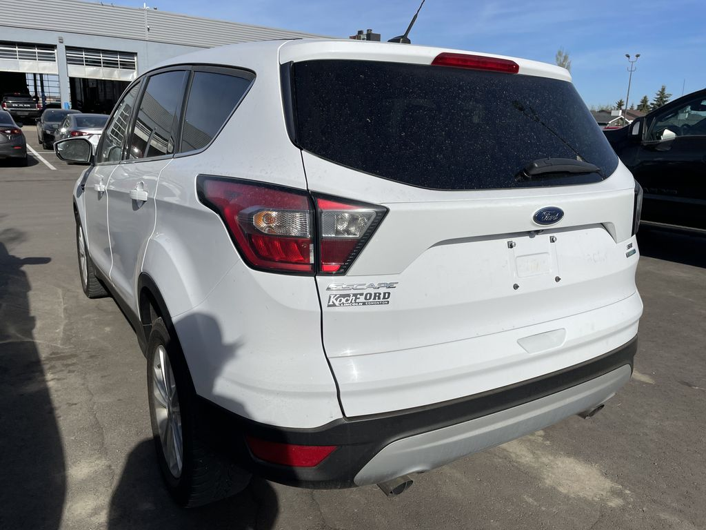 WHITE 2017 Ford Escape Left Front Rim and Tire Photo in Edmonton AB