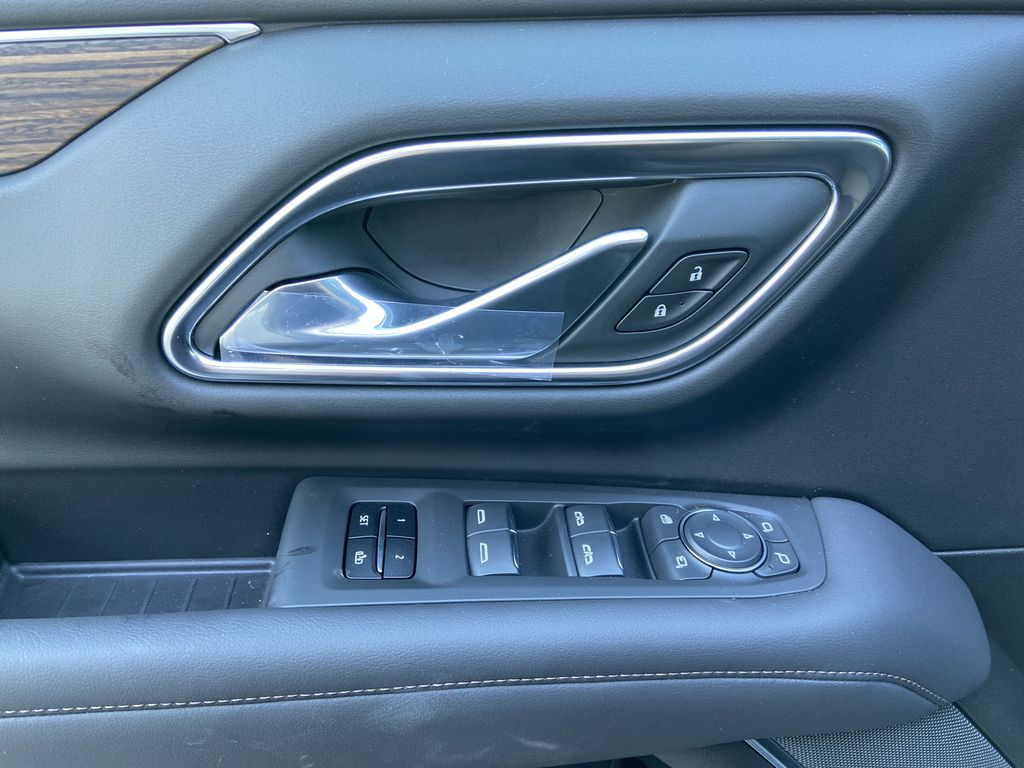 Black[Black] 2021 Chevrolet Suburban High Country  Driver's Side Door Controls Photo in Calgary AB