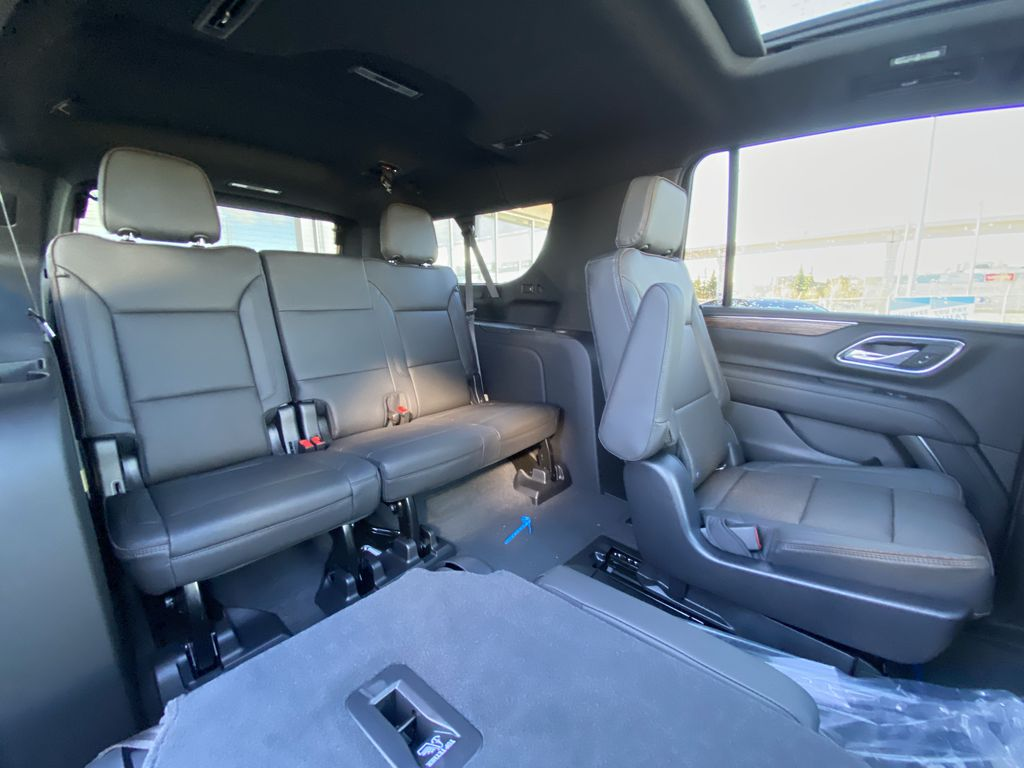 Black[Black] 2021 Chevrolet Suburban High Country Right Side Rear Seat  Photo in Calgary AB