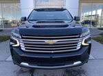 Black[Black] 2021 Chevrolet Suburban High Country Front Vehicle Photo in Calgary AB