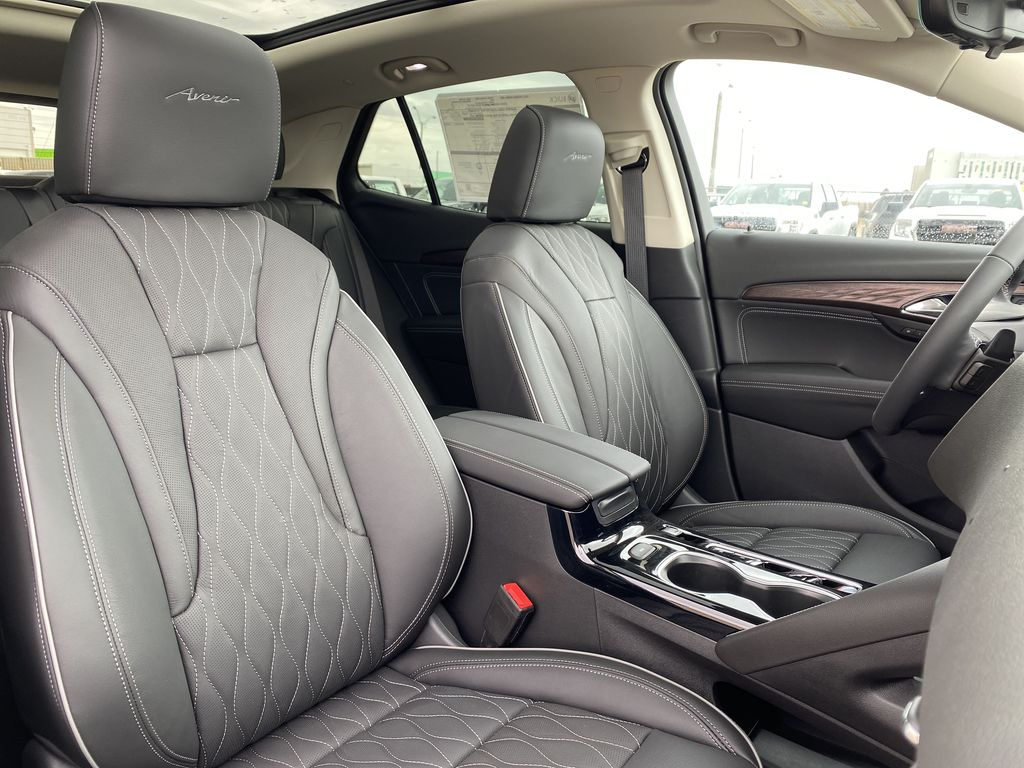 White[Summit White] 2021 Buick Envision Right Side Front Seat  Photo in Edmonton AB