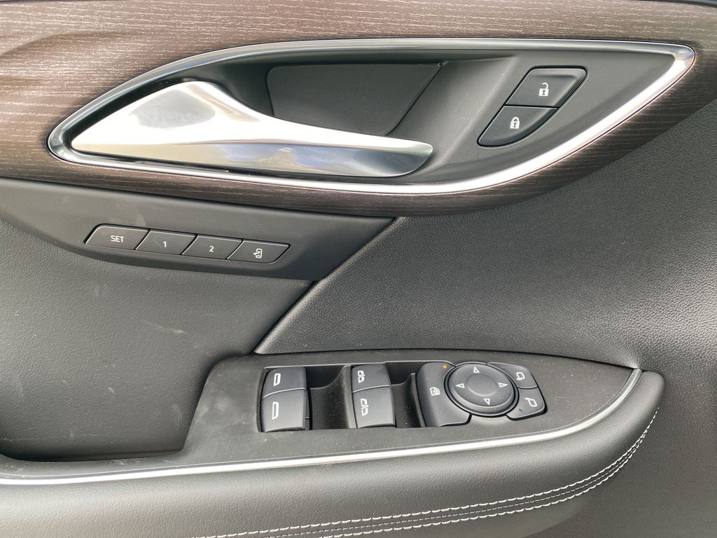 White[Summit White] 2021 Buick Envision  Driver's Side Door Controls Photo in Edmonton AB