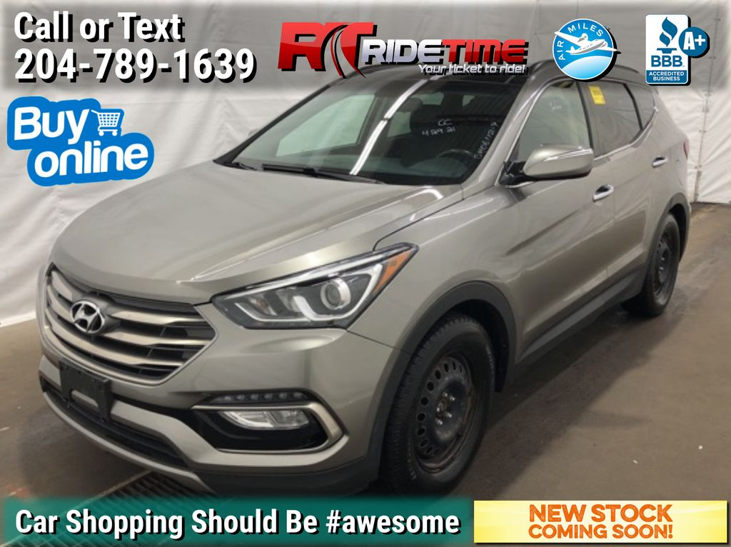 Gray[Mineral Gray] 2018 Hyundai Santa Fe Sport SE AWD - Leather, Panoramic Roof