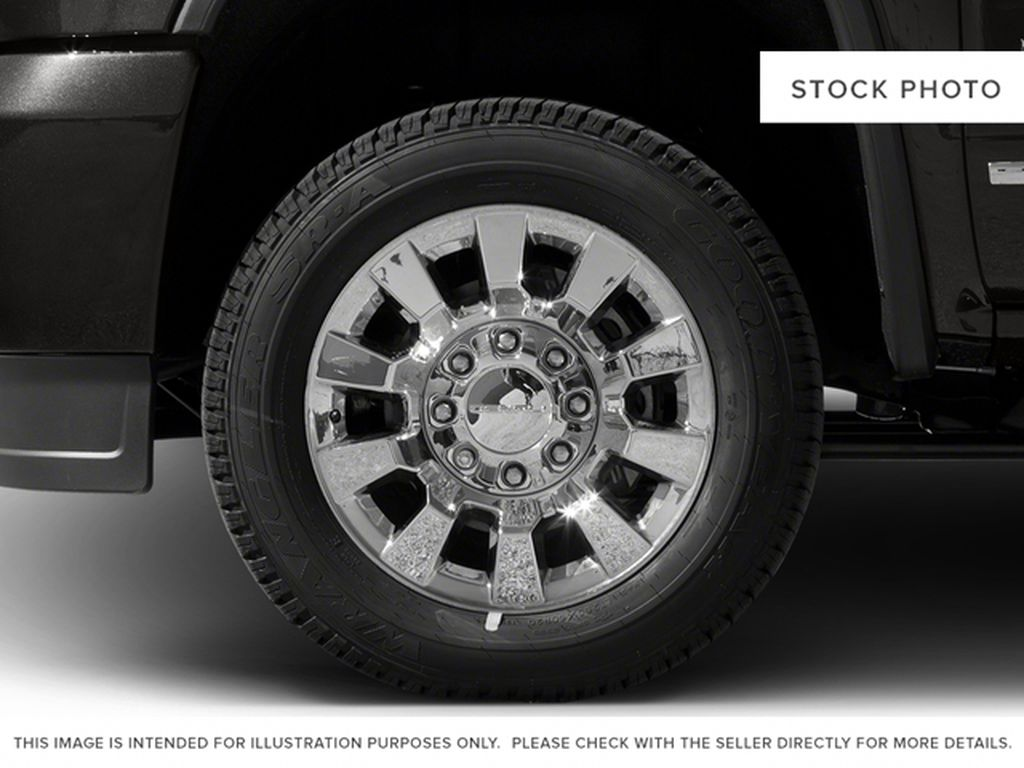 Burgundy 2016 GMC Sierra 2500HD Left Front Rim and Tire Photo in Fort Macleod AB