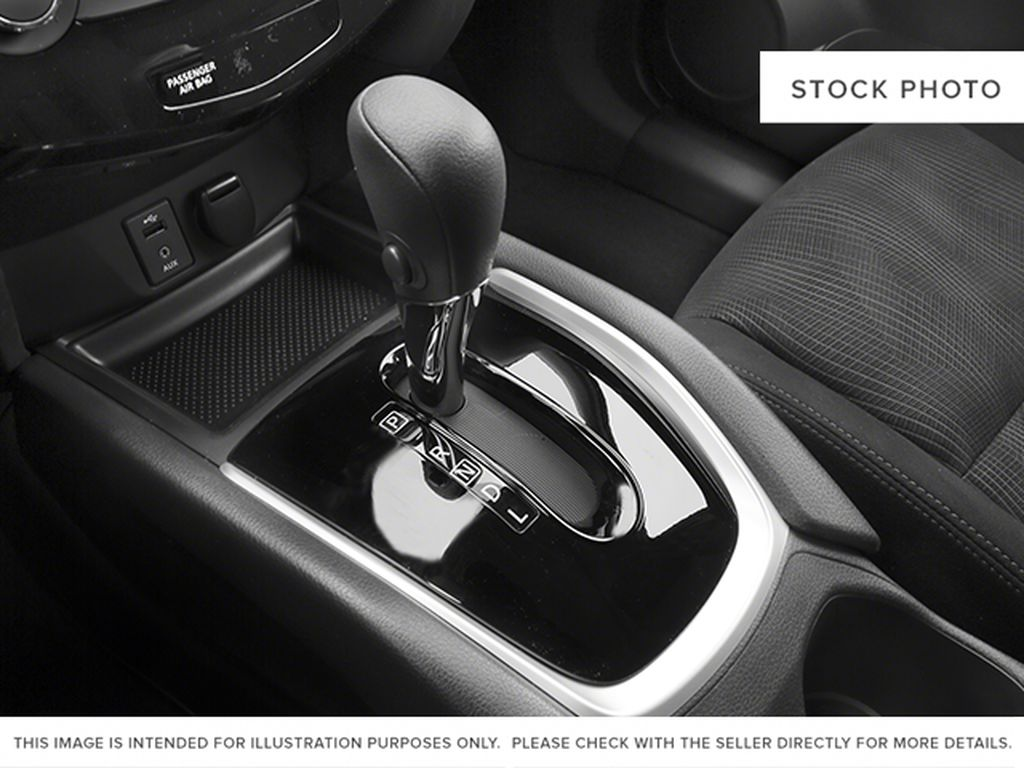 White[Moonlight White Pearl] 2014 Nissan Rogue Center Console Photo in Fort Macleod AB