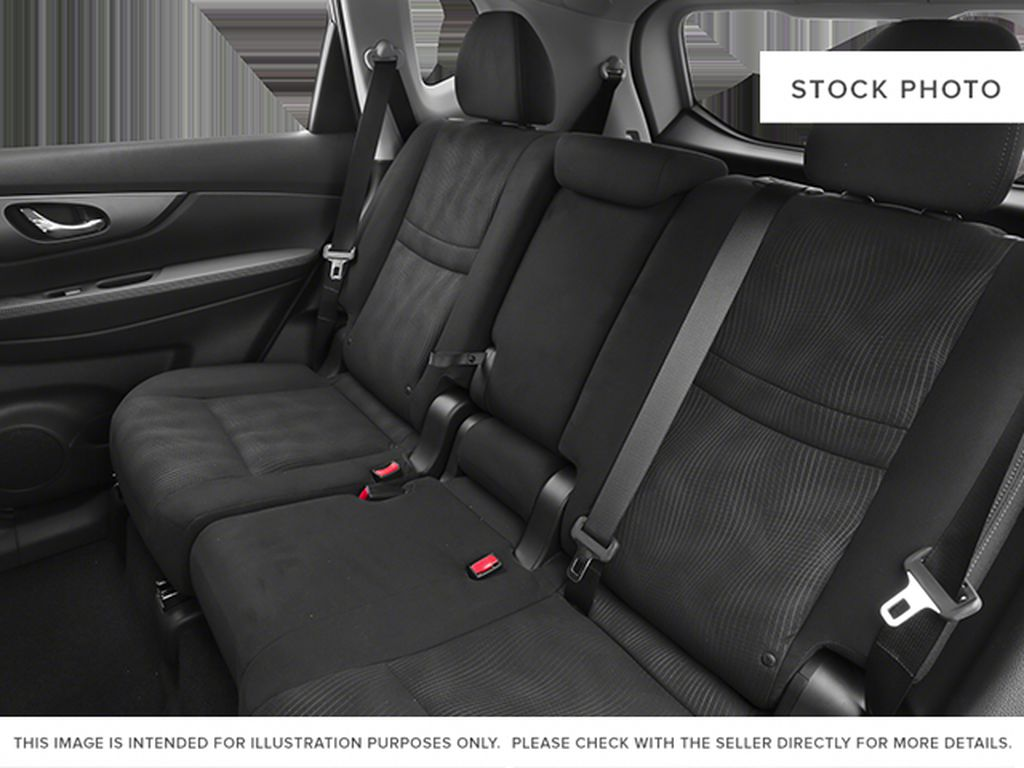 White[Moonlight White Pearl] 2014 Nissan Rogue Left Side Rear Seat  Photo in Fort Macleod AB