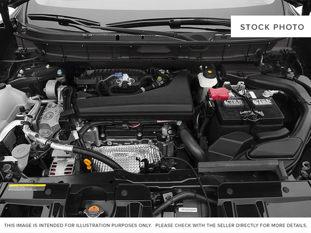 White[Moonlight White Pearl] 2014 Nissan Rogue Engine Compartment Photo in Fort Macleod AB