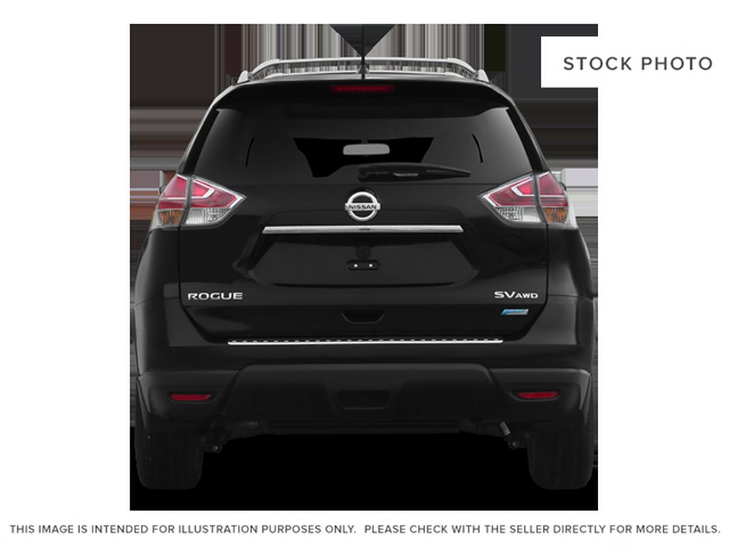 White[Moonlight White Pearl] 2014 Nissan Rogue Rear of Vehicle Photo in Fort Macleod AB