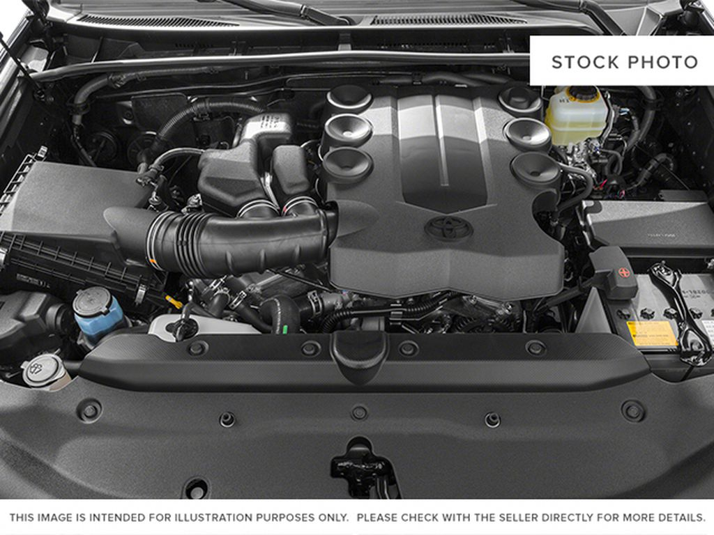 Red[Barcelona Red Metallic] 2014 Toyota 4Runner Engine Compartment Photo in Fort Macleod AB