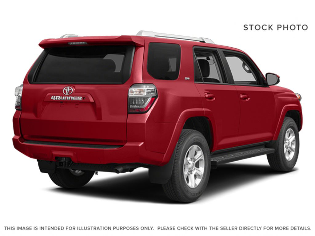Red[Barcelona Red Metallic] 2014 Toyota 4Runner Right Rear Corner Photo in Fort Macleod AB