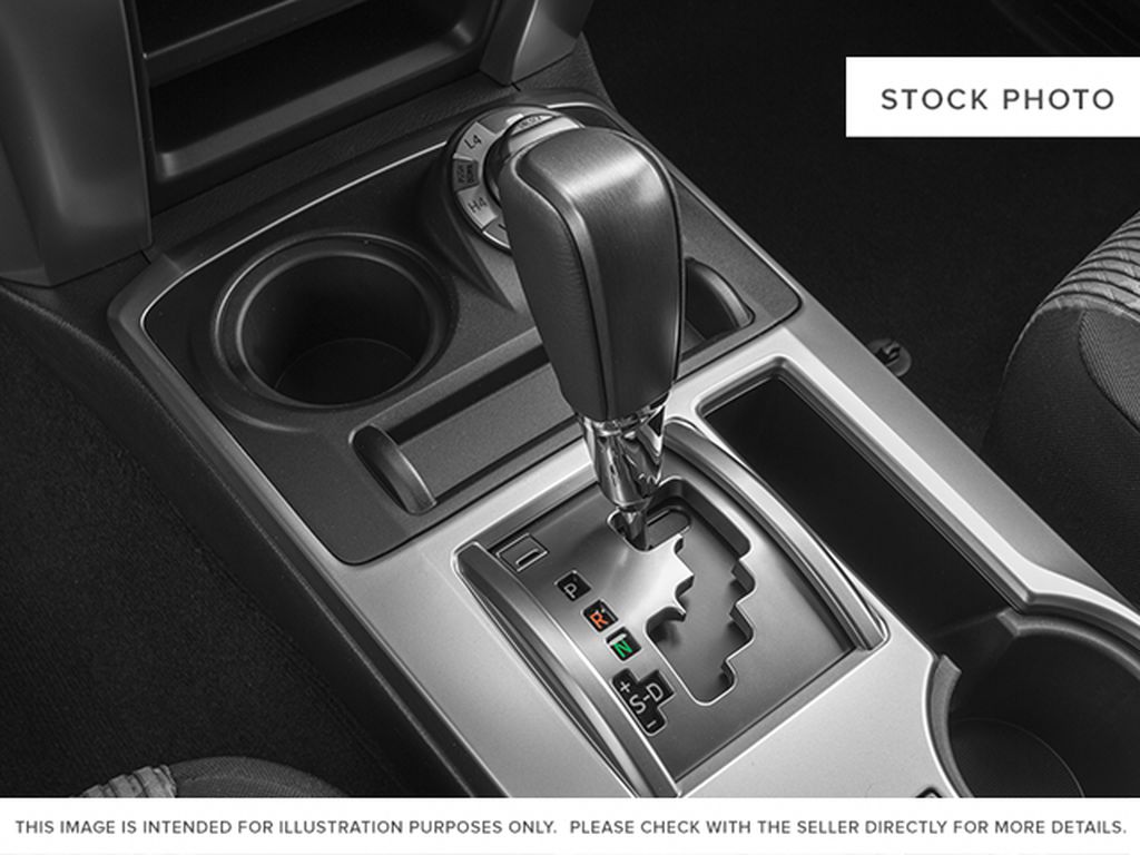 Red[Barcelona Red Metallic] 2014 Toyota 4Runner Center Console Photo in Fort Macleod AB