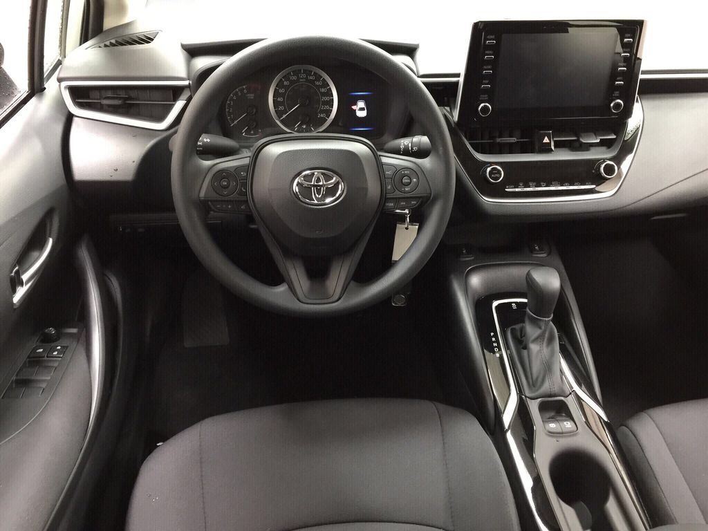 Silver[Classic Silver Metallic] 2021 Toyota Corolla LE Left Front Seat Photo in Sherwood Park AB