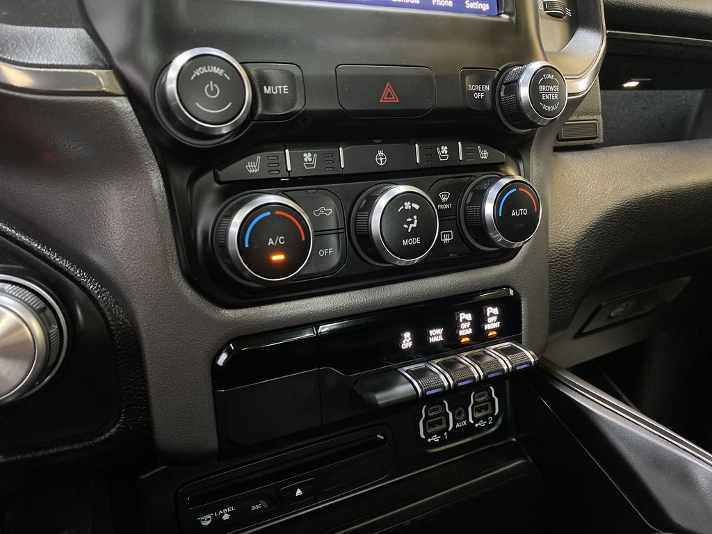 BLACK 2019 Ram 1500 - Bluetooth, Remote Start, Backup Camera, XM Radio Central Dash Options Photo in Edmonton AB