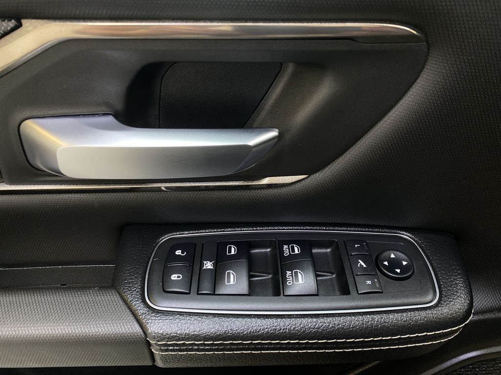 BLACK 2019 Ram 1500 - Bluetooth, Remote Start, Backup Camera, XM Radio  Driver's Side Door Controls Photo in Edmonton AB