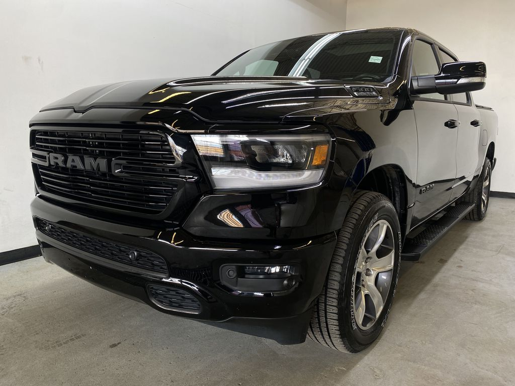 BLACK 2019 Ram 1500 - Bluetooth, Remote Start, Backup Camera, XM Radio Left Front Head Light / Bumper and Grill in Edmonton AB