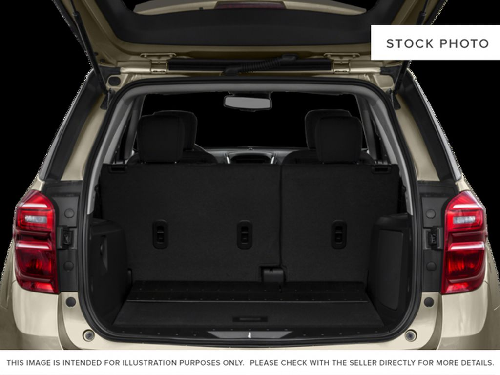 Black[Black] 2017 Chevrolet Equinox Trunk / Cargo Area Photo in Canmore AB