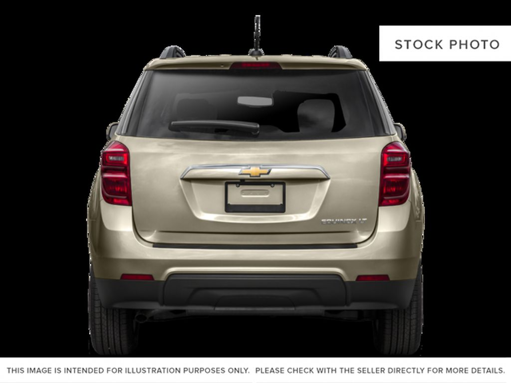 Black[Black] 2017 Chevrolet Equinox Rear of Vehicle Photo in Canmore AB