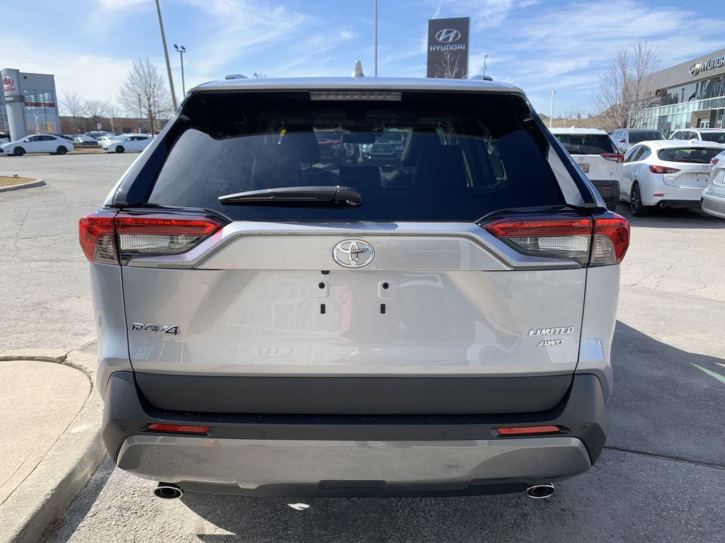 Silver[Silver Sky Metallic] 2021 Toyota RAV4 AWD Limited Standard Package D1RFVT AM Left Front Interior Photo in Brampton ON