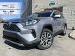 Silver[Silver Sky Metallic] 2021 Toyota RAV4 AWD Limited Standard Package D1RFVT AM Primary Photo in Brampton ON