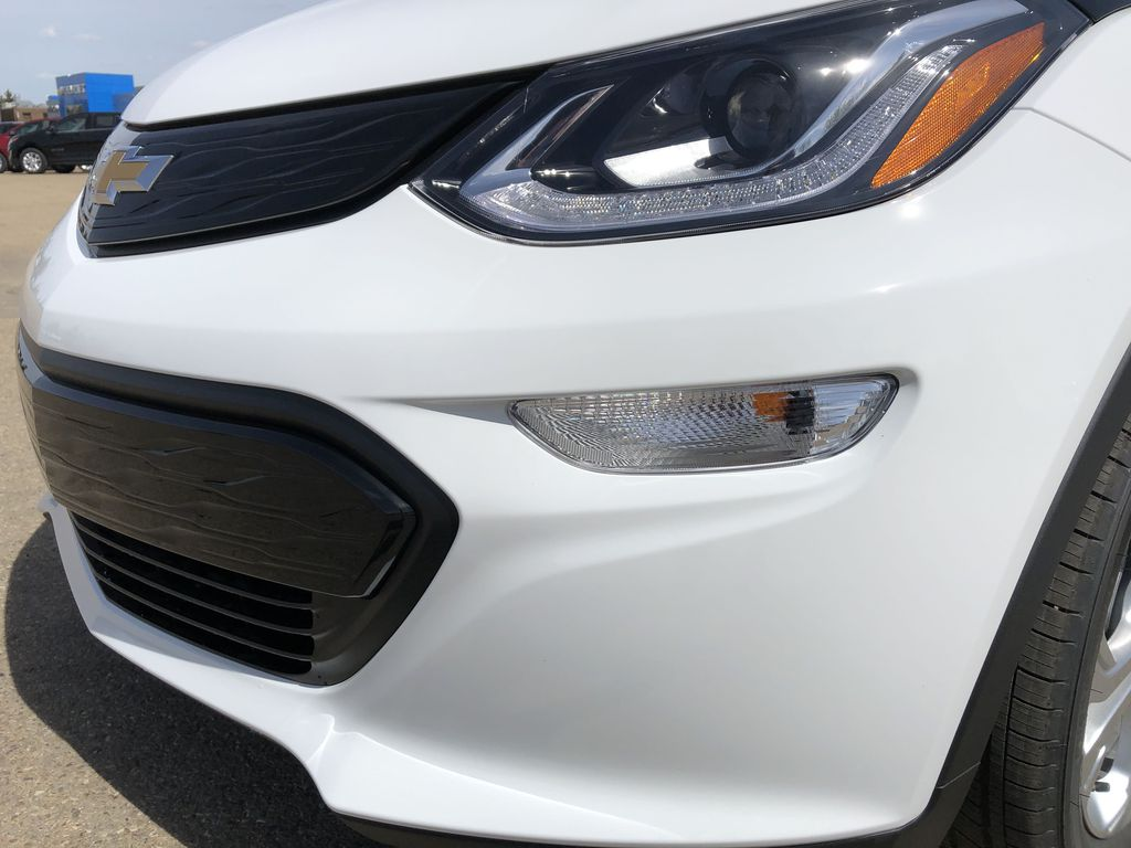 White[Summit White] 2021 Chevrolet Bolt EV Left Front Head Light / Bumper and Grill in Edmonton AB
