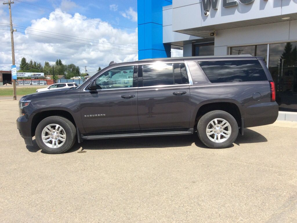 Grey 2018 Chevrolet Suburban Left Front Head Light / Bumper and Grill in Westlock AB