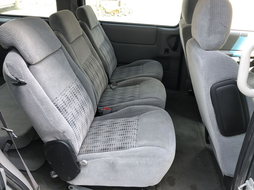 Blue[Blue Granite Metallic] 2005 Chevrolet Venture Right Side Rear Seat  Photo in Canmore AB