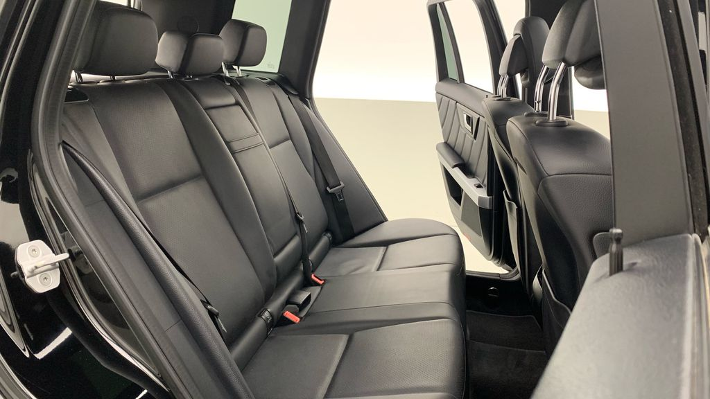 Black[Black] 2015 Mercedes-Benz GLK-Class - DIESEL, Panoramic Roof, Leather Right Side Rear Seat  Photo in Winnipeg MB