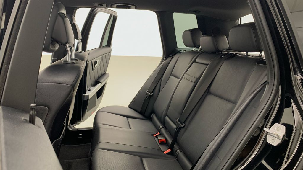 Black[Black] 2015 Mercedes-Benz GLK-Class - DIESEL, Panoramic Roof, Leather Left Side Rear Seat  Photo in Winnipeg MB