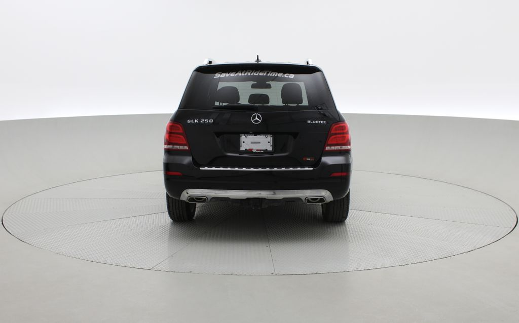 Black[Black] 2015 Mercedes-Benz GLK-Class - DIESEL, Panoramic Roof, Leather Rear of Vehicle Photo in Winnipeg MB